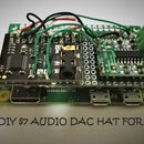 Bonnet DAC HAT With Both Audio Jack and Stereo Speaker Out
