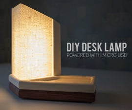 DIY Desk Lamp USB Powered