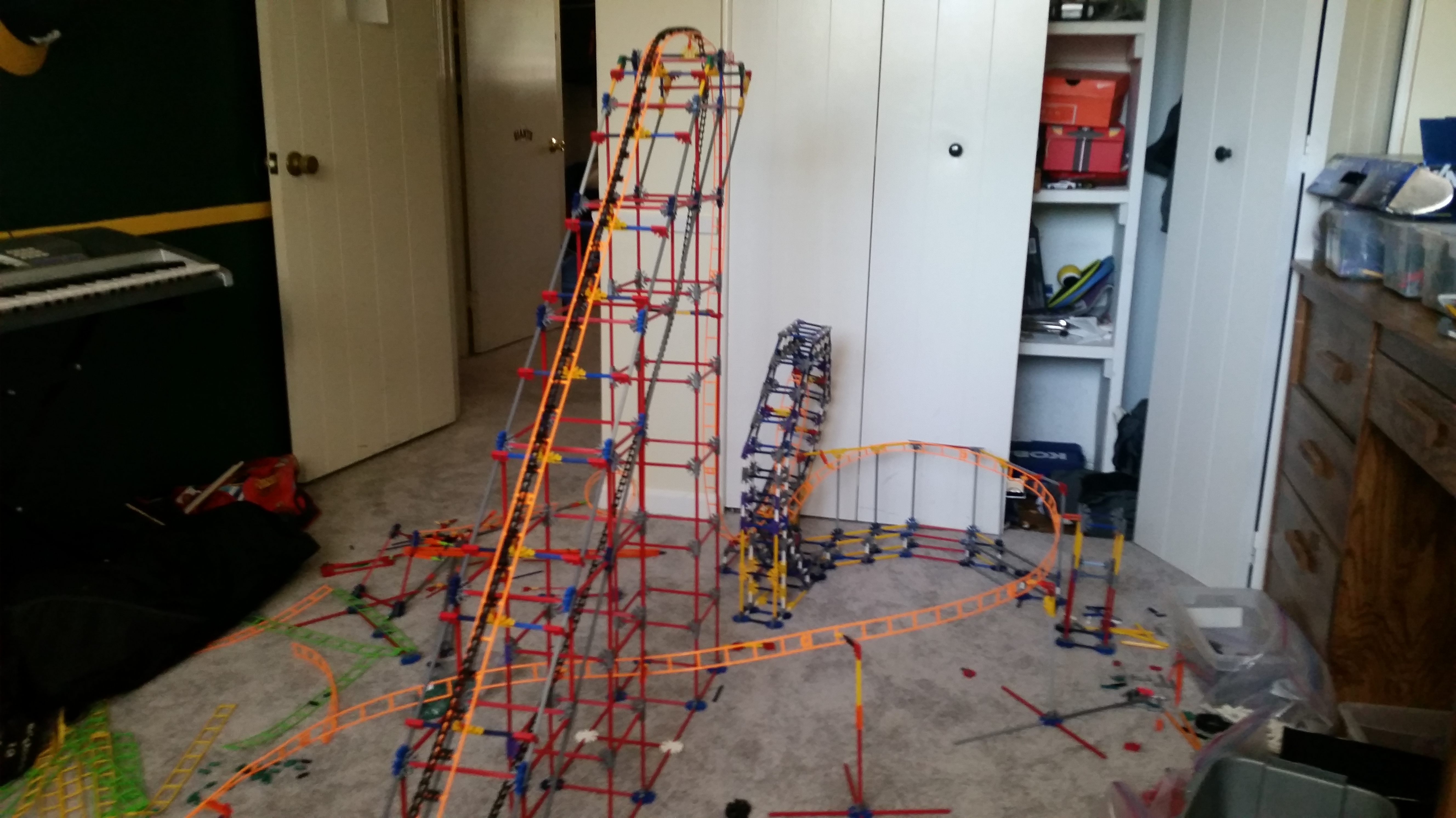 Picture of How to Make a Knex Roller Coaster