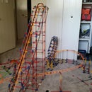 How to make a knex roller coaster