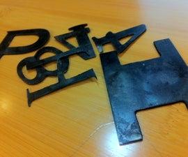 How to Blacken Steel with Motor Oil