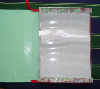Join the Dividers to the Back of the Cover.