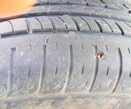 Tire Puncture Repair.