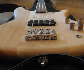 Neck Through Bass Guitar