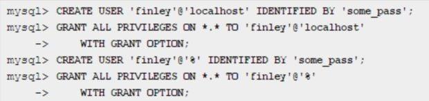 Database Using MySQL