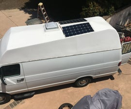 Hi-top Van Solar Power
