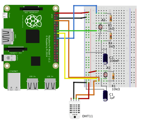 Picture of Adding a Anagog Light Intensity Sensor