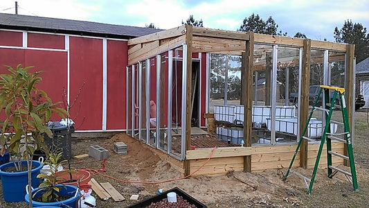 Finishing Up the Greenhouse