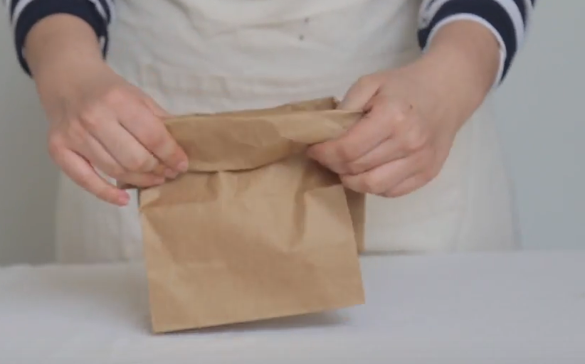 Picture of Inside a Paper Bag