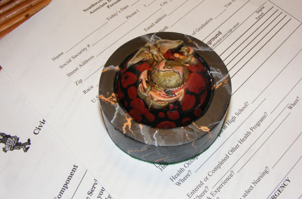 Picture of Personalized Paperweight:  USMC