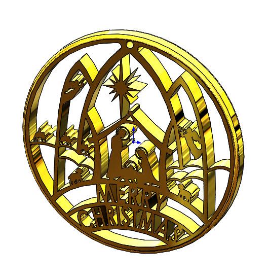 Picture of Nativity Ornament
