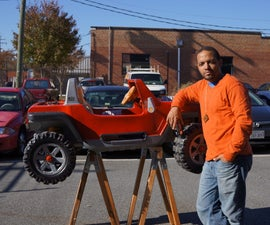 BARC Jeep - An XBOX Controlled Power Wheels