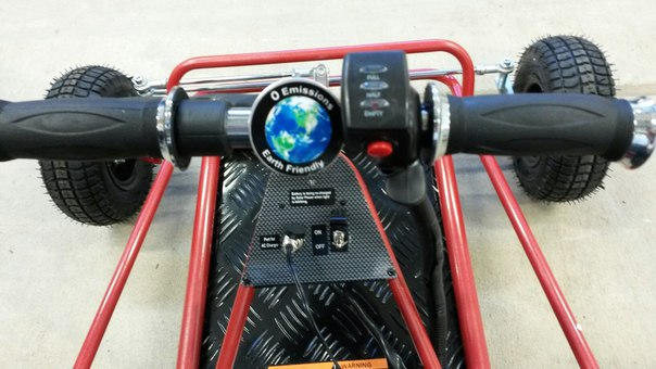 Picture of How to make power improvement for solar powered go-kart?