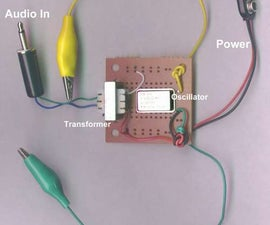 Build a very simple AM Transmitter.