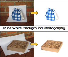 Pure White Background Photography