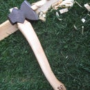 Making a replacement axe or hatchet handle