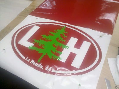 Instructables - HOW TO MAKE a GIANT LOGO