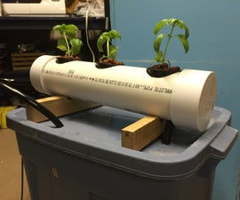 How to Build an N.F.T. Hydroponics System