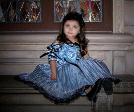 Tim Burton Alice in Wonderland  Blue teapot dress.