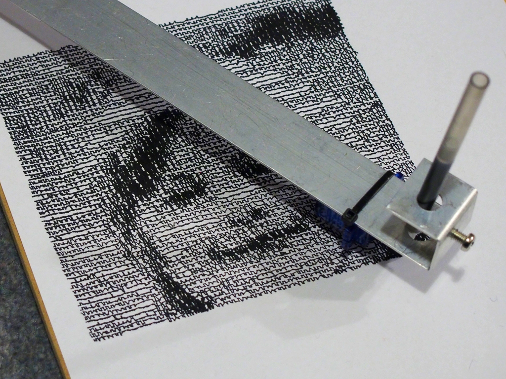 Picture of Make Your Own CNC Plotter Image