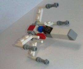Mini Lego xwing from Star Wars saga