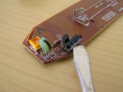 Open the Xbox Remote - Identify IC and Check Electrolytic Quality