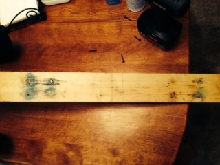 "Picture of Attatch Skateboard to 44"" Inch Board"