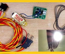 How to Make a Worktable Lighting