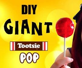 Giant Tootsie Pop and Tootsie Pop Ring Pop