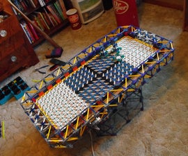 Knex Air Hockey Table