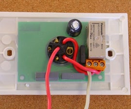 Remote Controlled Light Switch -- Retrofit. Light Switch Still Works, No Extra Writing.