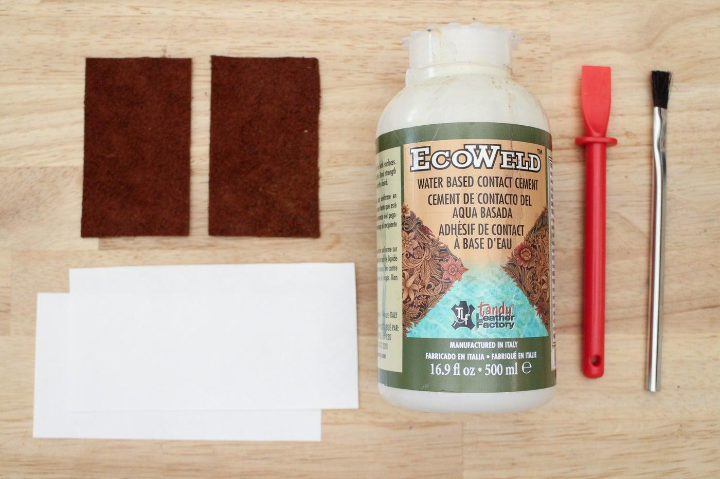 Using Leather Glue