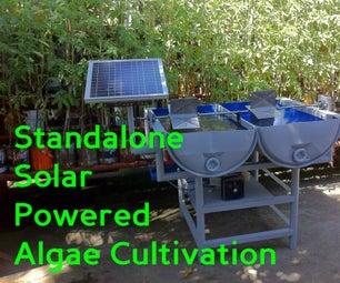 Standalone Solar Powered Algae Cultivation