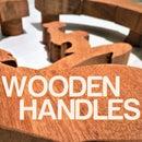 Custom Wooden Door Handles