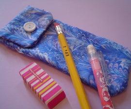 Make A Cute And Handy Pencil Bag