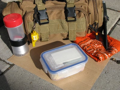 Comprehensive Survival Fire Kit