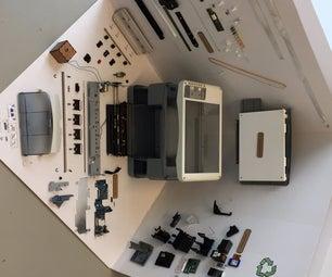 The Autopsied Printer