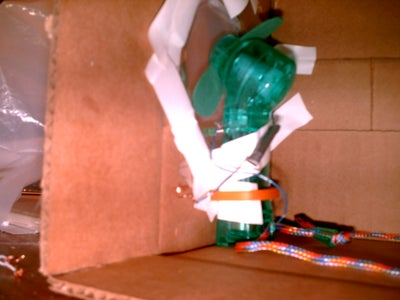 Attach Fan to the Box
