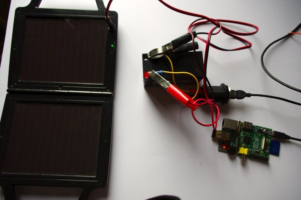 Solar Powered Raspberry Pi