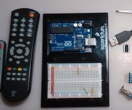 ATtiny85 IR USB receiver