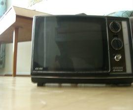 How To: Make A CRT TV Into an Oscilloscope