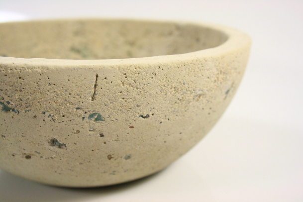 Picture of Smash and Grab Bowl_Cast Concrete + Glass.