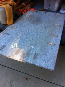 Prepping the Granite