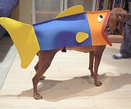 How To Turn Your Dog Into A Fish For Halloween