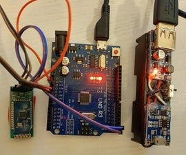 Arduino Remote/wireless Programming and Power Bank Homemade