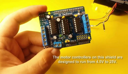 About the Motor Shield