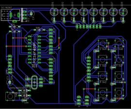 18 pin PIC Development Board