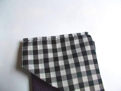 Attaching Coin Purse to Trapezoids and Ironing