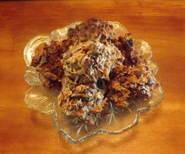 DARK CHOCOLATE COCONUT ALMOND MACAROONS