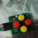 How to Control 4 Led or Relay With 4 Buttons With Arduino